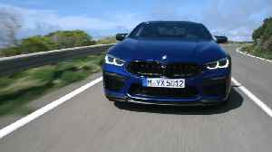 2020 BMW M8 Competition Coupe Driving Video [Video]