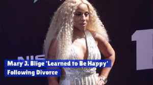 Mary J. Blige Looks Beyond Her Divorce [Video]