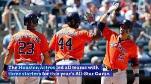 Mike Trout and Christian Yelich Headline MLB All-Star Starters [Video]