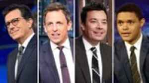 Late-Night Hosts Offer Political Commentary on Second Democratic Debate | THR News [Video]
