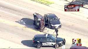 Chopper 9 exclusive: Crash at Galbraith and Daly [Video]