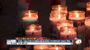 Vigil held for woman murdered in drive-by shooting [Video]
