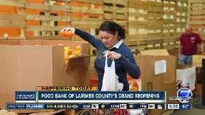 Food Bank of Larimer County's grand reopening [Video]