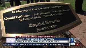 Memorial Garden honors five victims of Capital Gazette shooting [Video]