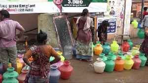 Indian state of Chennai stocks up water during massive ongoing drought [Video]