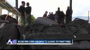 Wildland Firefighter Academy graduates headed to Alaska to fight Swan Lake Fire [Video]
