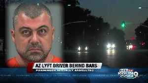 Arizona Lyft driver charged with kidnapping, sexually assaulting passenger [Video]