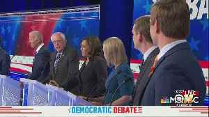 Biden, Sanders Face 'Age' Question During Democratic Debate [Video]