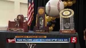 Hundreds celebrate Vandy Boys' College World Series championship [Video]