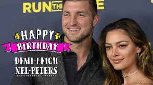 3 Times Demi-Leigh Nel-Peters and Tim Tibow were #CoupleGoals [Video]