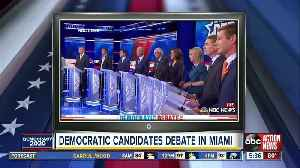 Fact-checking night two of the first Democratic presidential debate [Video]