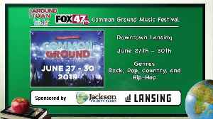 Around Town Kids - Common Ground Music Festival - 6/28/19 [Video]