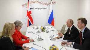 British PM May confronts Putin over Skripal poisoning in tense G20 meeting [Video]