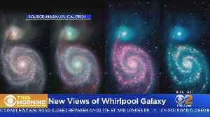 NASA, JPL Release Images Of Whirlpool Galaxy [Video]