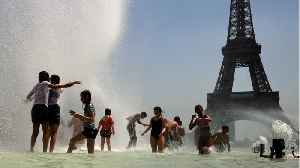 France Hits Record High Temperatures [Video]