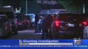 Man Shot To Death While Sitting In Compton Car With His Girlfriend, Gunman At Large [Video]