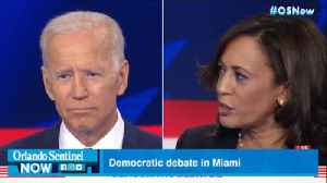 Democratic debates in Miami produce stars and stumblers, but few candidates likely to drop out soon [Video]