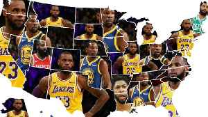 Map Reveals Which NBA Players Are The MOST Hated In EVERY US State! [Video]