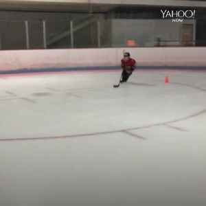 Talented 9-year-old hockey player [Video]