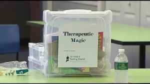 VIDEO: Reading Hospital teaches Therapeutic Magic class for first responders, volunteers [Video]