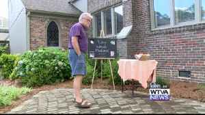 A non-profit holds a memorial service for a homeless veteran. [Video]