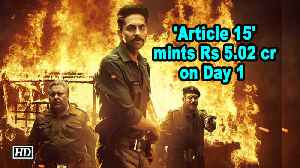 'Article 15' mints Rs 5.02 cr on Day 1 [Video]