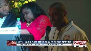 City Holds First Mass Graves Public Meeting [Video]