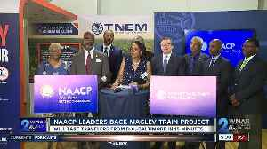 NAACP leaders back Maglev train project [Video]