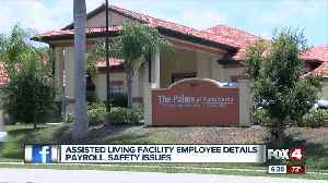 Elderly care facility employee says workers are quitting over late paychecks [Video]