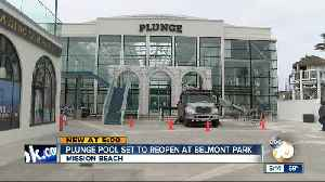 Plunge pool to reopen in Mission Beach [Video]