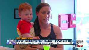 Veteran trains for winter olympics while juggling responsibilities [Video]