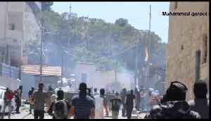 News video: Protesters and Israeli Forces Clash in East Jerusalem After Killing of Palestinian Protester