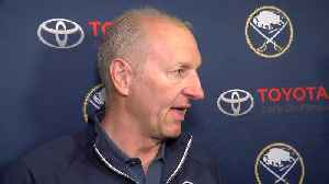 Ralph Krueger speaks to the media following Sabres Development Camp [Video]