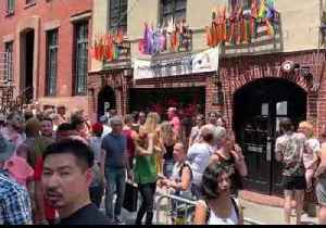 Crowds Gather at Stonewall Inn as Pride Kicks Off in New York [Video]