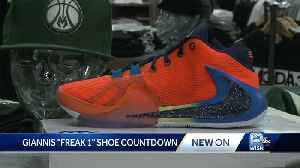 Sneak peek: Giannis' new Nike about to hit stores [Video]
