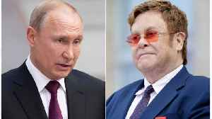 Elton John Blasts Putin For Calling Liberal Values 'Obsolete' [Video]