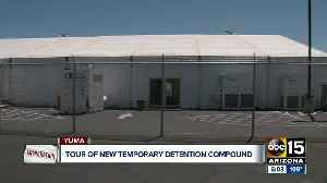 What's inside: Temporary detention center for migrants opens in Yuma [Video]