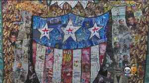 Patriotic Art Exhibit Finds New Meaning In American Flag [Video]