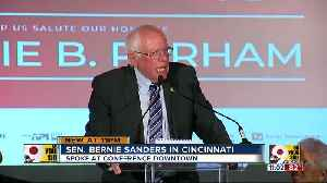 Beating Trump will be a team effort, Sanders tells Cincinnati [Video]