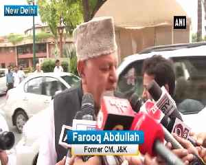 Both countries should talk to resolve trade issues Farooq Abdullah on Trump urges India to cut tariffs [Video]