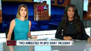 Two men arrested in BPD SWAT standoff [Video]
