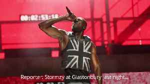 Johnson claims Stormzy chanted back Boris and not the f-bomb at Glastonbury [Video]