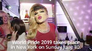 Virgin Atlantic celebrates World Pride with London to New York flight [Video]