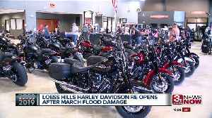 Harley Davidson store in Pacific Junction reopens [Video]