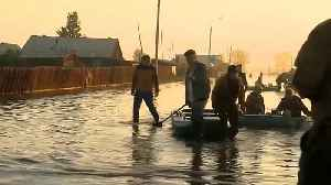Thousands of homes in Russia destroyed after torrential rain [Video]
