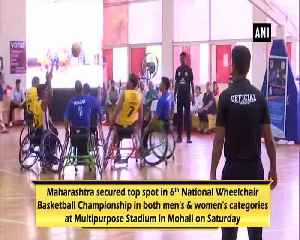 Maharashtra wins men's and women's title in National Wheelchair Basketball Championship [Video]