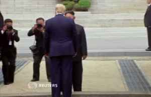 News video: Trump and Kim to reopen talks after DMZ meeting