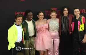 'Stranger Things' stars out in Los Angeles for world premiere [Video]