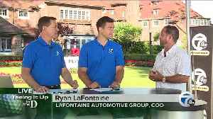 News video: Ryan LaFontaine talks golf and the LaFontaine Automotive Group's embrace of golf in Detroit