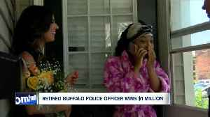 Retired Buffalo police officer wins $1 million from Publishers Clearing House [Video]